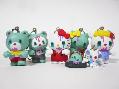 HELLO KITTY ZOMBIE FRIENDS