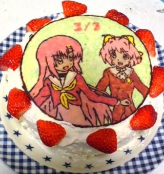 ケーキはホットケーキミックス