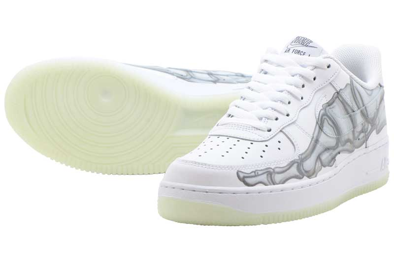 NIKE AIR FORCE 1 07 SKELETON QS bq7541-100