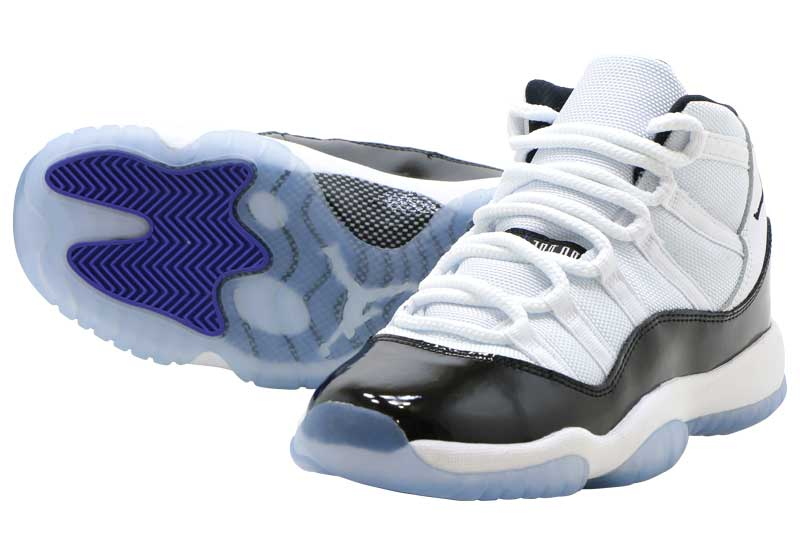 NIKE AIR JORDAN 11 RETRO GS CONCORD 378038-100