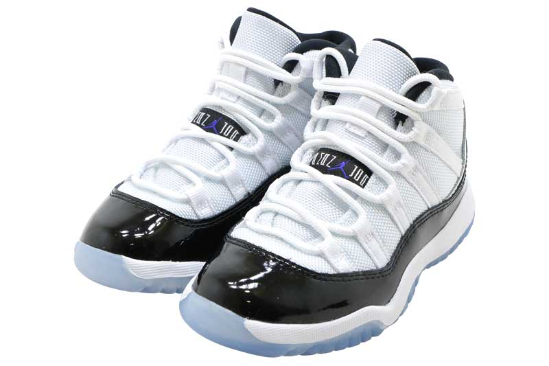 NIKE AIR JORDAN 11 RETRO PS CONCORD 378039-100