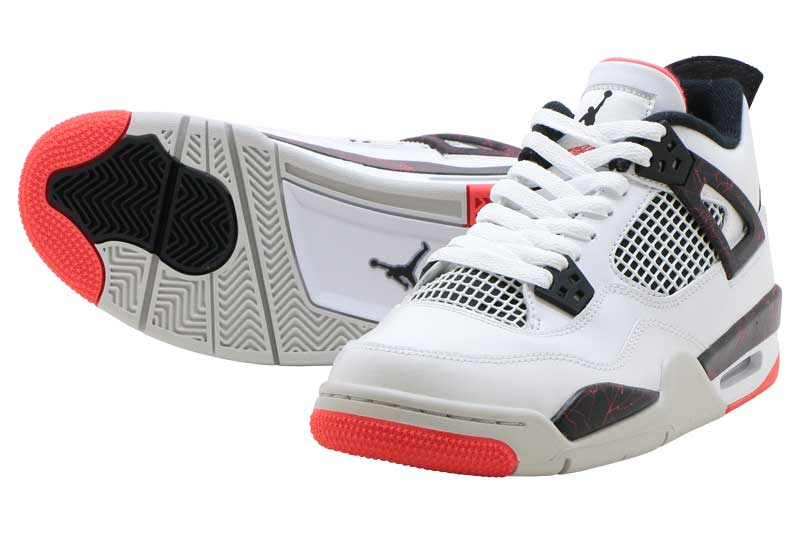 NIKE AIR JORDAN 4 RETRO GS 408452-116