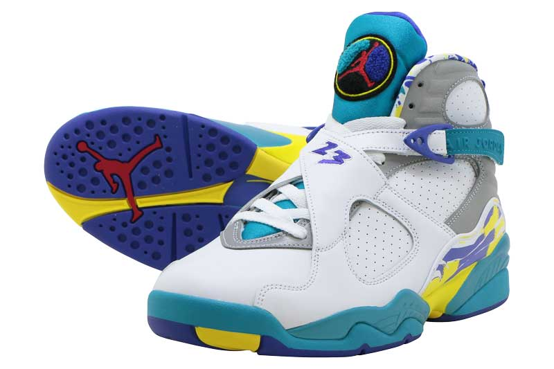 NIKE WMNS AIR JORDAN 8 RETRO ci1236-100