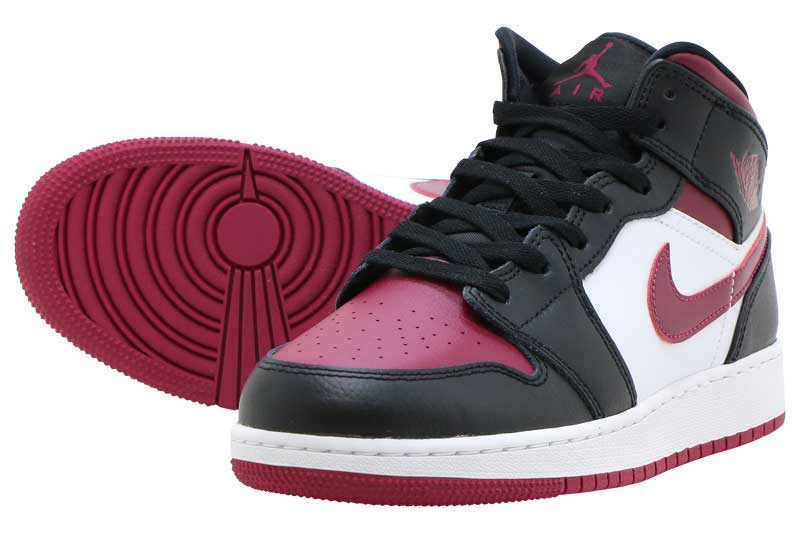 NIKE AIR JORDAN 1 MID GS 554725-066