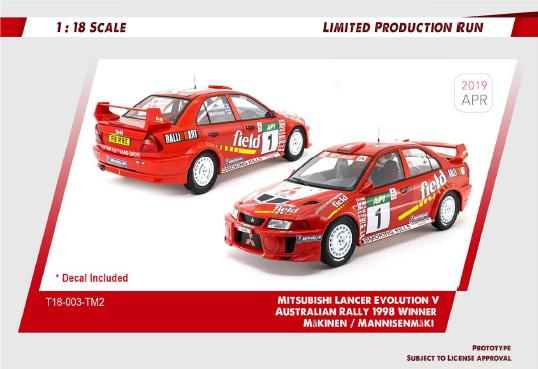 Ixo Matra DG Rally De Montecarlo 1//18