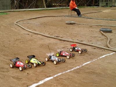 加西レース予選2WD第1ヒート