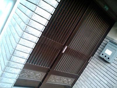 マイホーム玄関