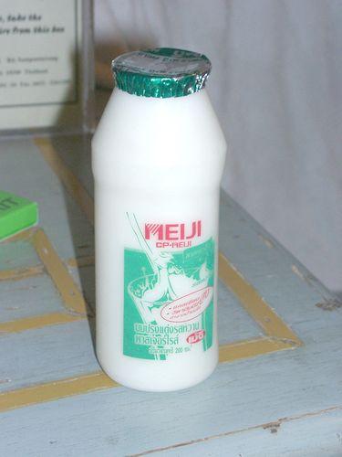 タイの牛乳