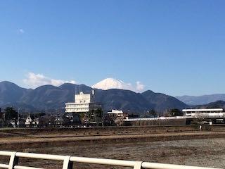 開成からの富士山