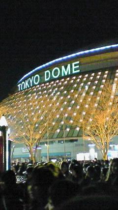 またまた東京ドーム!