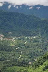 弥陀ヶ原展望台からの風景