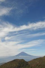 駒ケ岳からの富士山