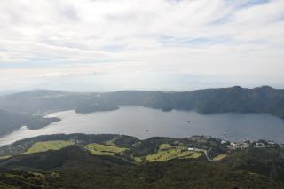 駒ケ岳からの芦ノ湖