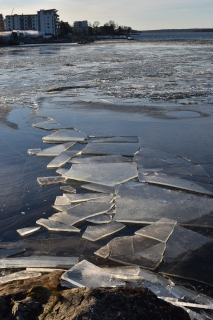 2014 sweden スウェーデン 旅 冬休み 湖 大自然 雪 散歩