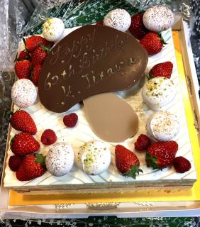 photographic paths BankART yokohama Birthday cake.JPG