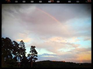 201607 Sweden Rainbow after rain
