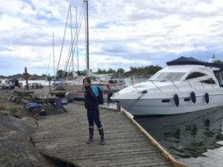 2017 夏 スウェーデン クルージング アーキペラゴ archipelago リンネット LINNET Björkskär ビョルクシャー