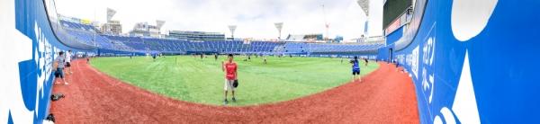 横浜スタジアム DREAM GATE CATCHBALL