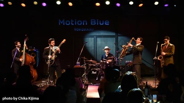 MOTION BLUE YOKOHAMA The TRAVELLERS with Naoyuki Fujii