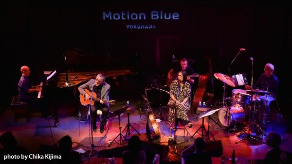 JOYCE MORENO Motion Blue Yokohama