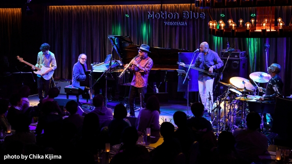 BOB JAMES & KIRK WHALUM Joined At The Hip Motion Blue Yokohama