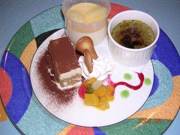 デザート3種盛り