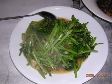 XO醬空心菜