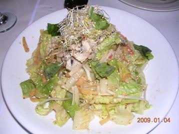 チキンのオリエンタル風サラダ