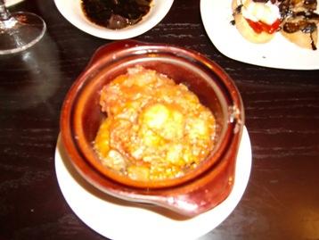 トマトソースの肉団子