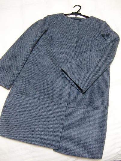 コクーン型コート