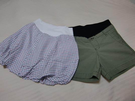 バルーンスカート&アーミーショートパンツ
