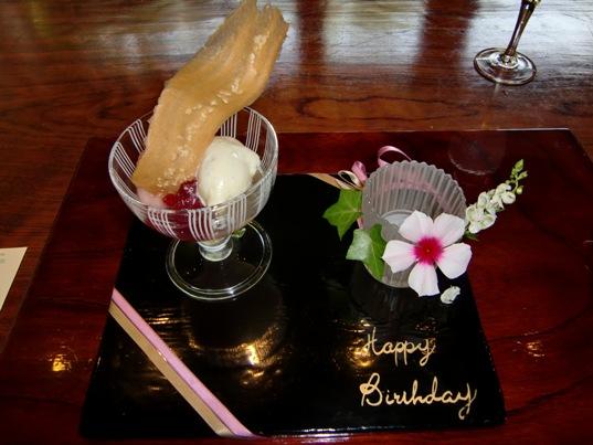ピーチメルバ白鳳のコンポート、想いやり生乳のアイスクリーム