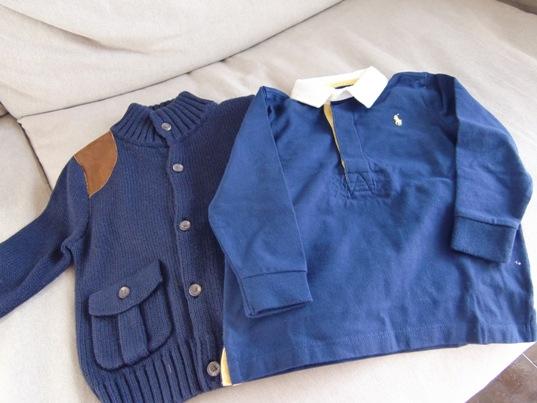 カーディガン&ポロシャツ
