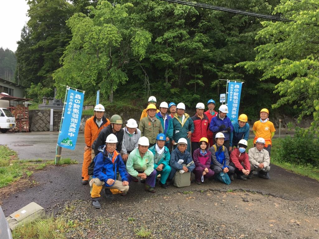 高山木の駅プロジェクト 森の健康診断