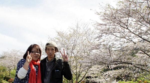 錦江湾公園のスナップ