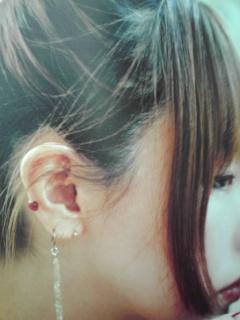 aikoのピアスの位置 | 嘆きのキス