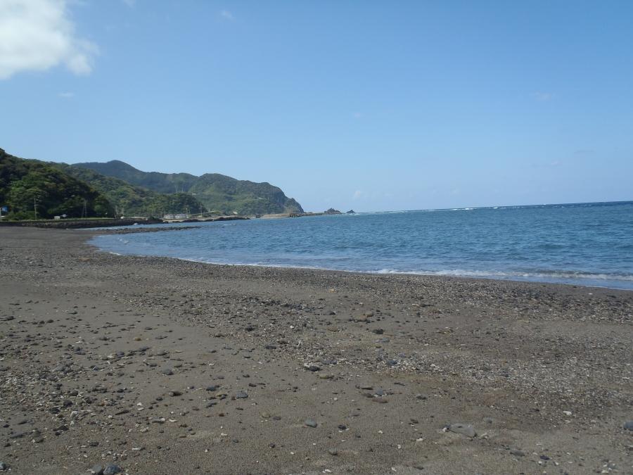 大棚の砂浜