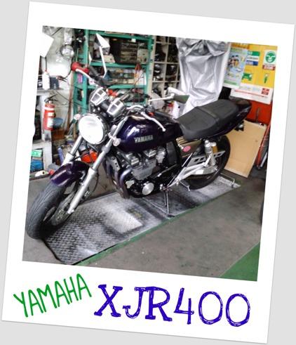 XJR400。