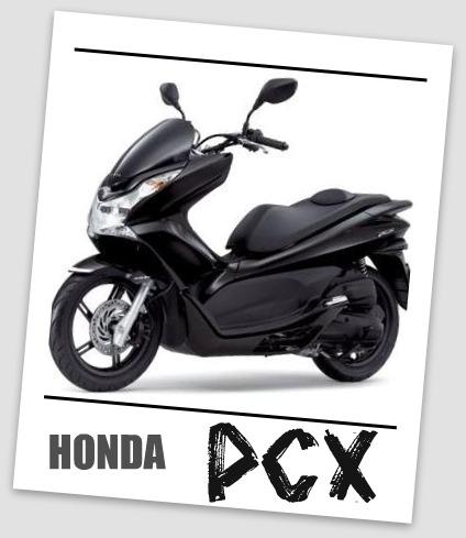 PCX黒。