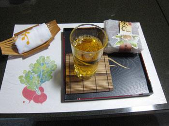 お茶菓子の画像
