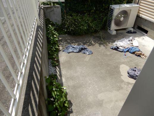 世田谷区アパート掃除