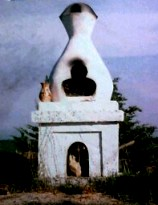 チベット式柴燈護摩 サンの香炉