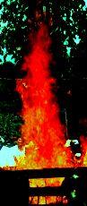 火界定の火炎