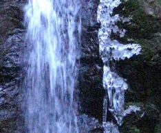 大寒の氷滝