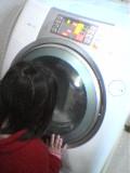 洗濯機とありさ1.jpg