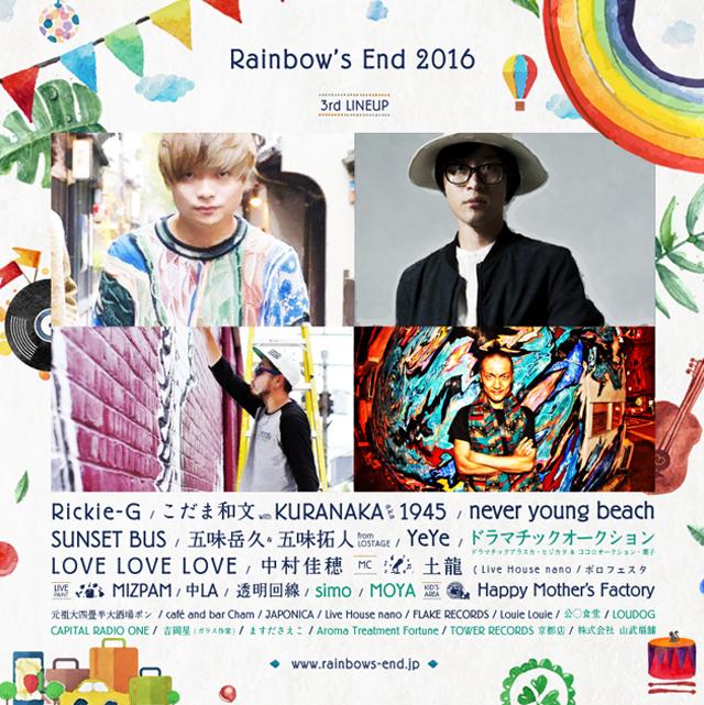 Rainbow's End 2016