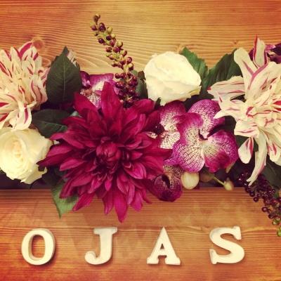 ネイルサロンojasが3周年を迎えました。いつもご来店頂いているお客様、お友達、家族のみんな、ありがとうございます。祝3周年