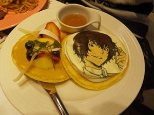 太宰さんのパンケーキ