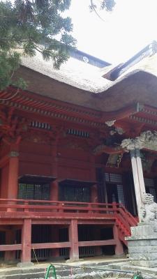 出羽山三神合祭殿