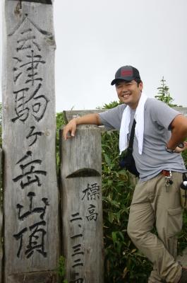 会津駒ケ岳山頂